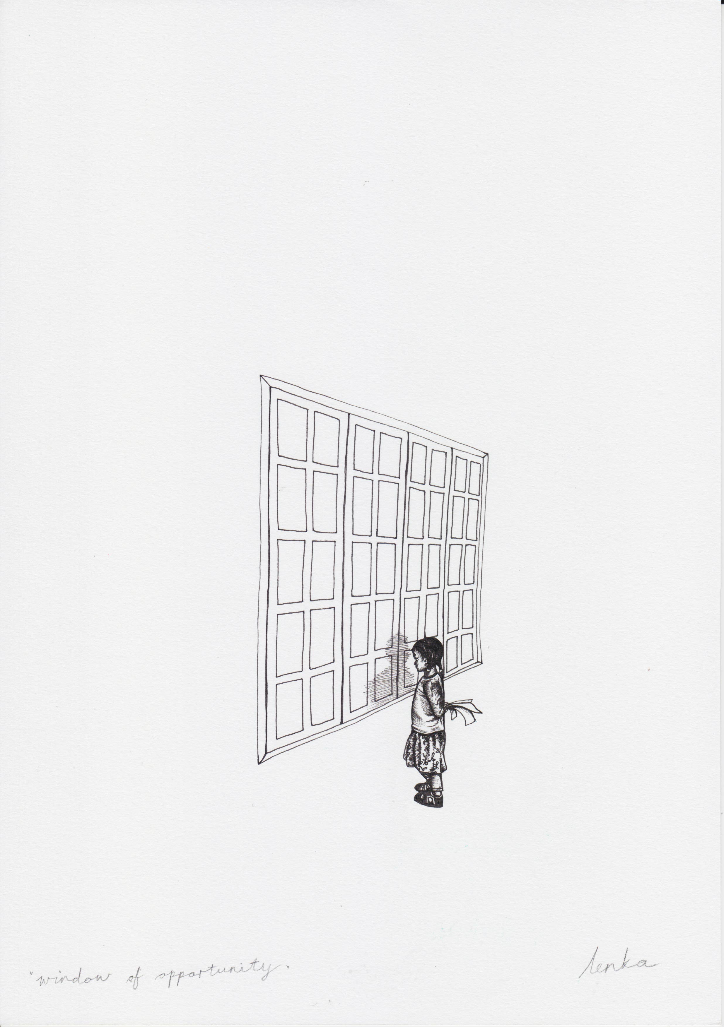 Lenka Cronje – Nr. 1.07 – window